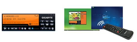 Gigabyte E8000 TV Tuner Remote Control Vista