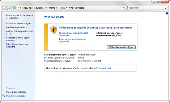 PROCEDUR DE MISE A JOUR WINDOWS 7 VERS WINDOWS 8 Upgrade-04