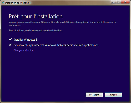 PROCEDUR DE MISE A JOUR WINDOWS 7 VERS WINDOWS 8 Upgrade-13