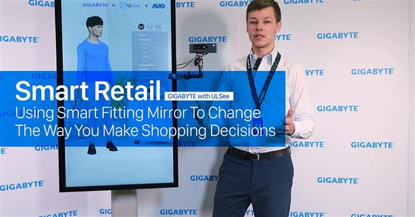 [Video] Smart Retail: Using smart fitting mirror to change the way you make shopping decisions