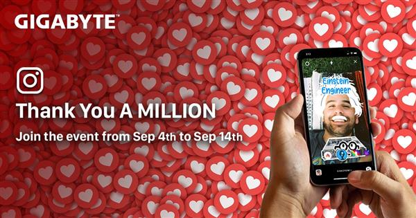 Join Instagram Sweepstakes to celebrate with 1M fans. Play filter game & Win the amazing prize! <br/>