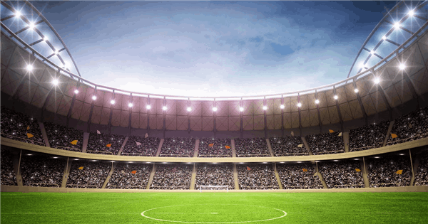 An Immersive VR Stadium Experience with 5G eMBB Technology