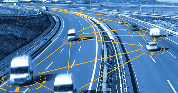 An Autonomous Vehicles Network with 5G URLLC Technology