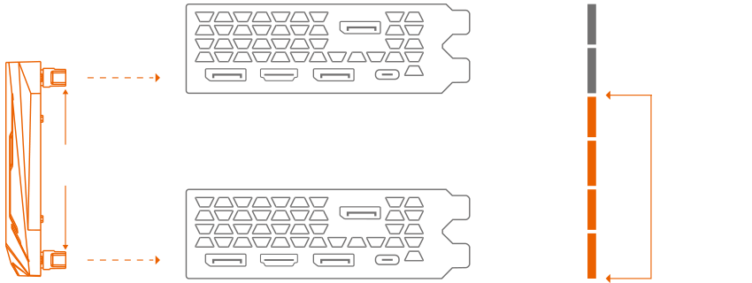 AORUS NVLINK™ BRIDGE 4-Slot | Graphics Card - GIGABYTE Global