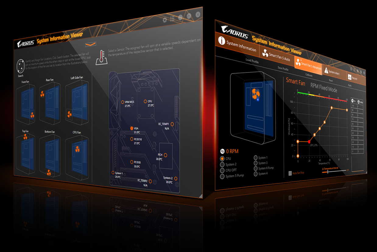 Z390 Aorus Elite Rev 10 Motherboard Gigabyte Global Falcon 110 Wiring Diagram Choose From Different Modes Quiet To Full Speed Match Your System Usage Preferences For Each Fan Or Pump You Can Use The Intuitive Curve