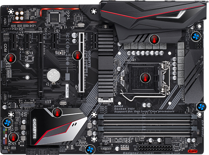 Z390 GAMING X (rev  1 0) | Motherboard - GIGABYTE Global