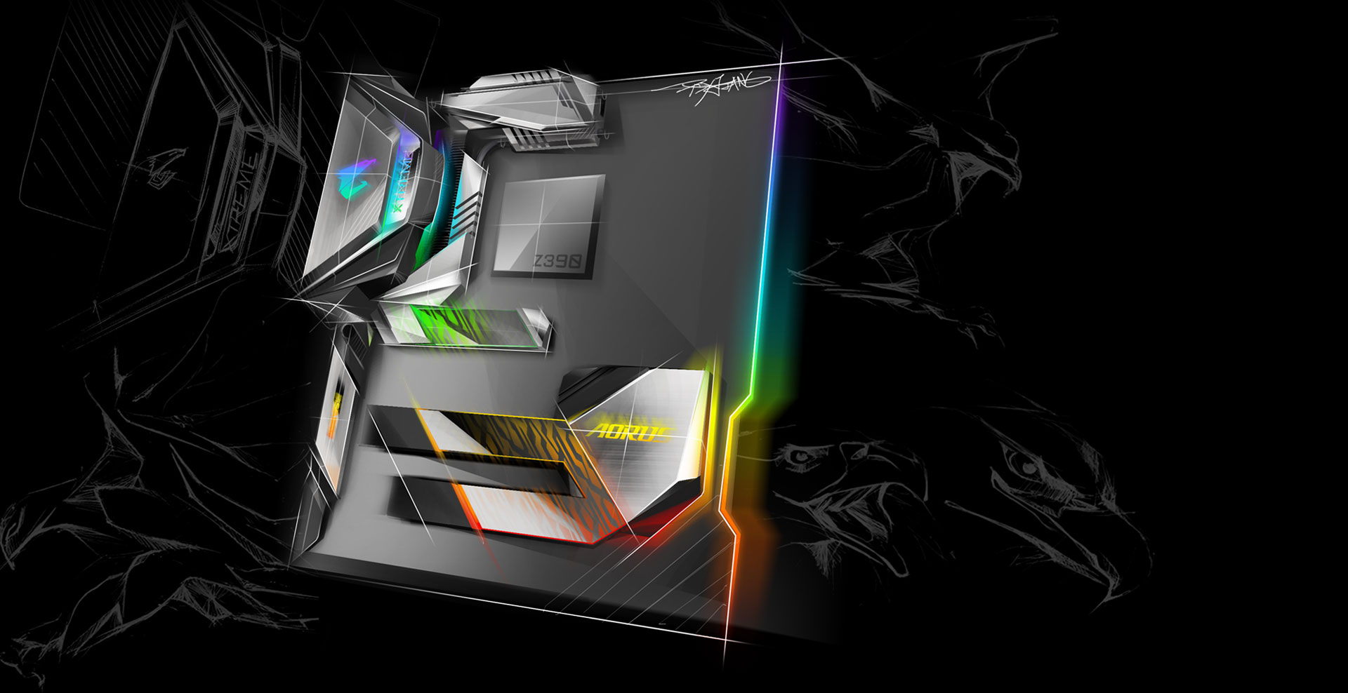 Z390 Aorus Xtreme Rev 10 Motherboard Gigabyte Global Performance Module Wiring Diagrams State Of The Art Aesthetics Sophisticated Thermal Design Next Generation Network Connectivity Hi Fi Level Audio System Is New