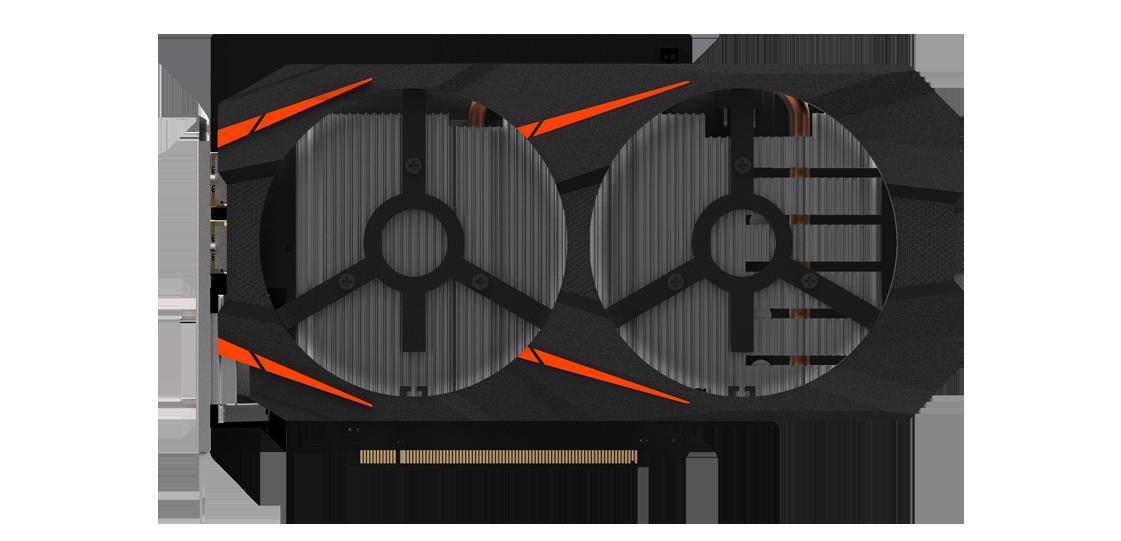 GeForce® GTX 1060 WINDFORCE 2X OC D5X 6G   Graphics Card - GIGABYTE