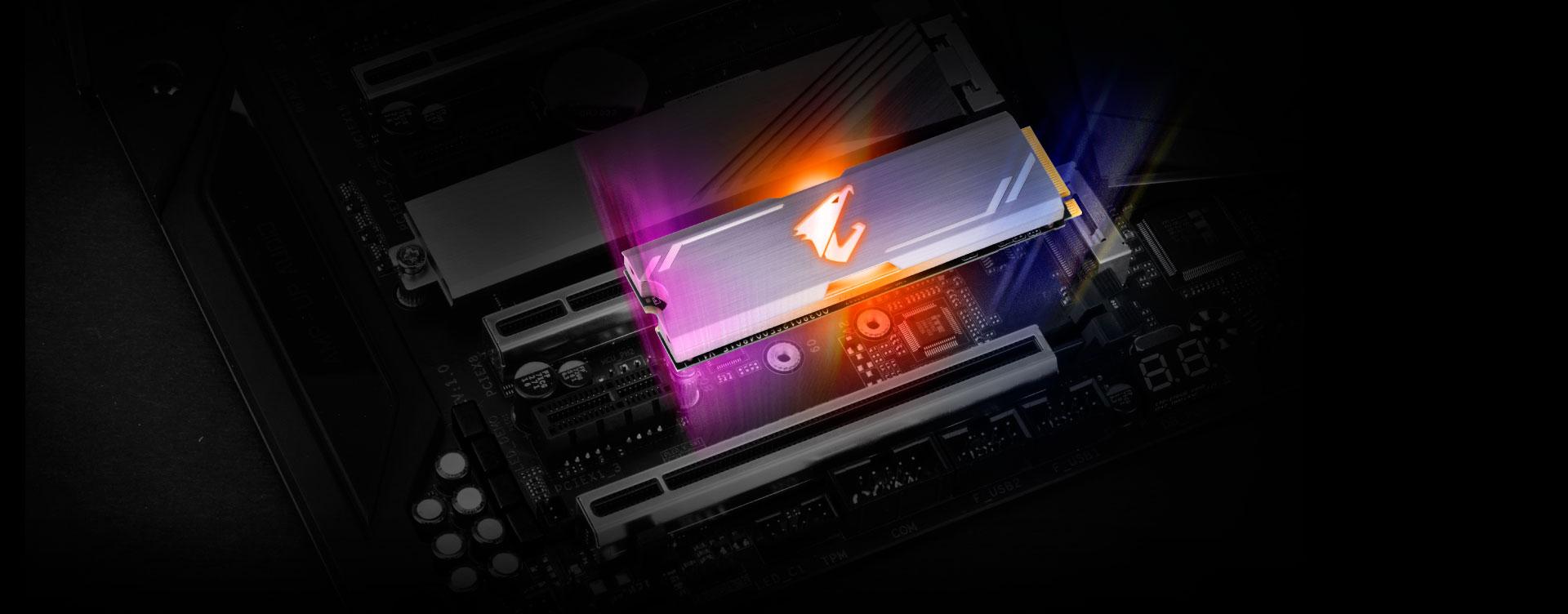 AORUS RGB 512GB M.2 SSD