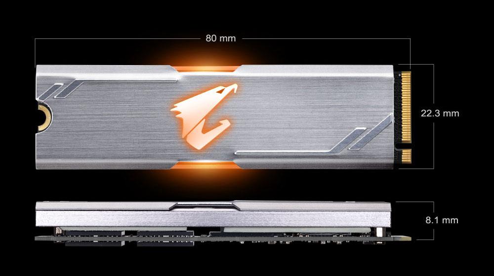 AORUS RGB M 2 NVMe SSD 512GB | Solid State Drive (SSD) - GIGABYTE Global