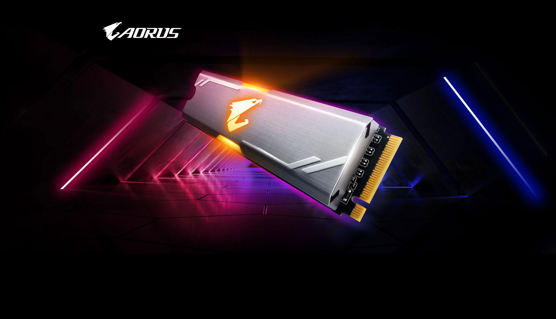 AORUS RGB M 2 NVMe SSD 512GB | Solid State Drive (SSD