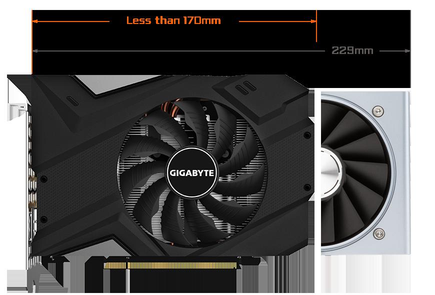 Geforce RTX™ 2060 MINI ITX OC 6G (rev  1 0) | Graphics Card