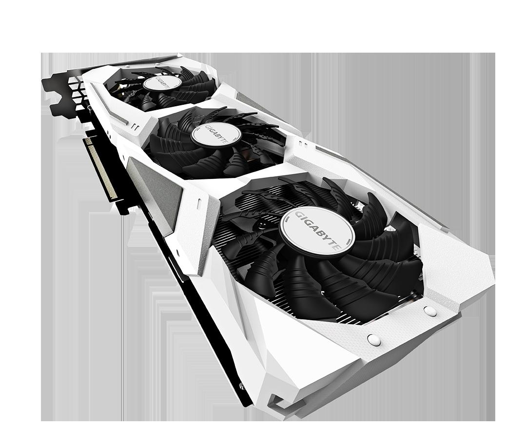 Image result for GIGABYTE GeForce RTX 2060 Gaming OC White PRO 6G Graphics Card, 3X WINDFORCE Fans, 6GB 192-Bit GDDR6, GV-N2060GAMINGOC PRO WHITE-6GD Video Card