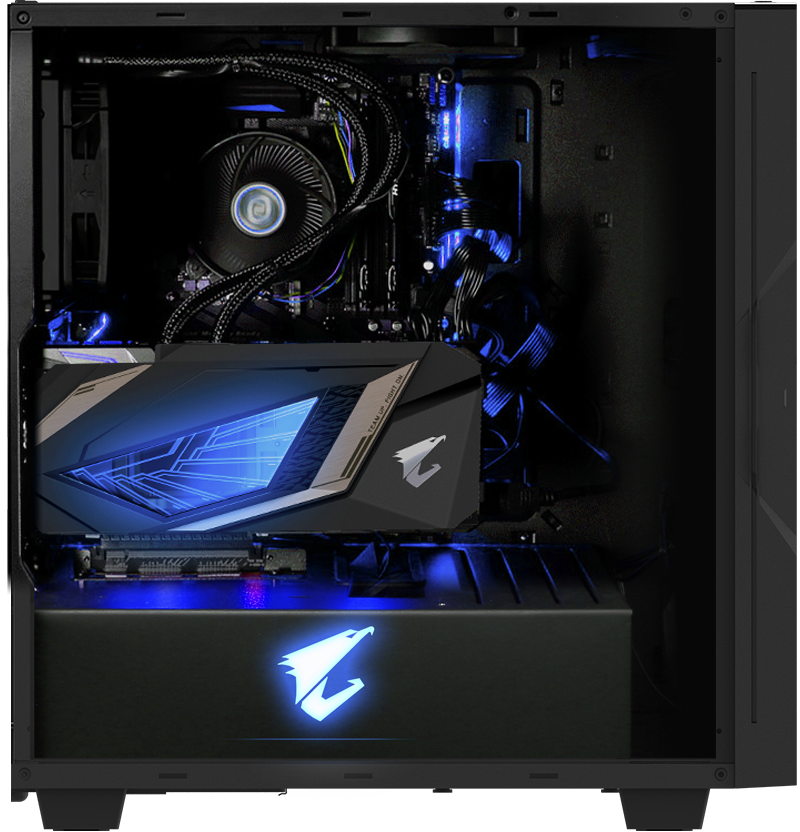 Gigabyte AORUS C300 GLASS - GB-AC300G 12