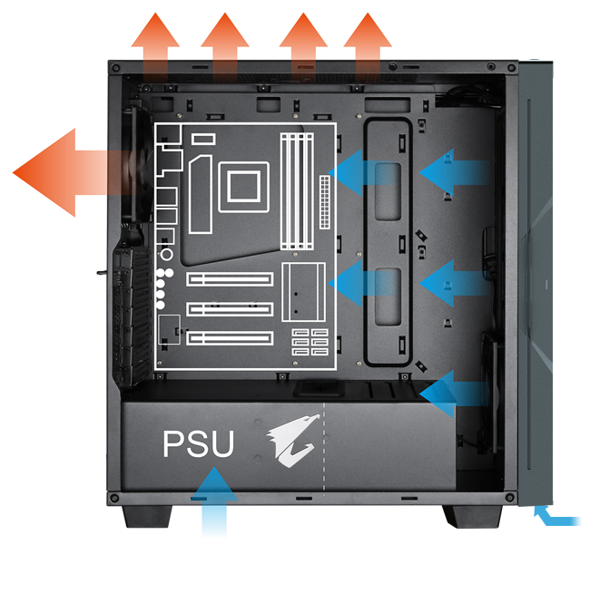 Gigabyte AORUS C300 GLASS - GB-AC300G 19