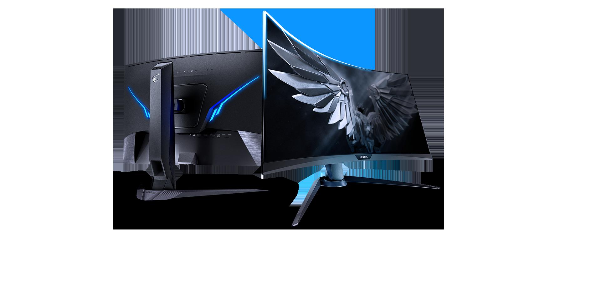 AORUS CV27F Gaming Monitor   Monitors - GIGABYTE Global