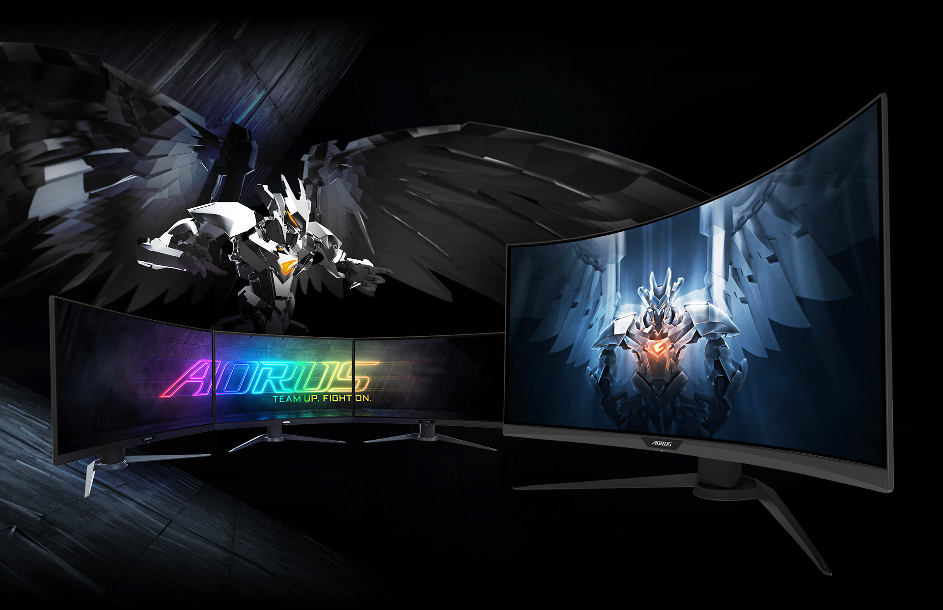 AORUS CV27Q Gaming Monitor 2k - 165Hz - 1ms 8
