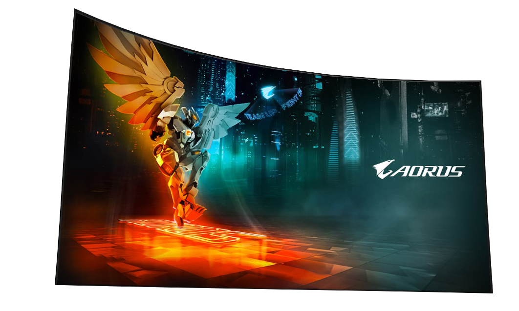 AORUS CV27Q Gaming Monitor 2k - 165Hz - 1ms 15