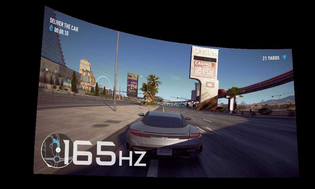 AORUS CV27Q Gaming Monitor 2k - 165Hz - 1ms 9
