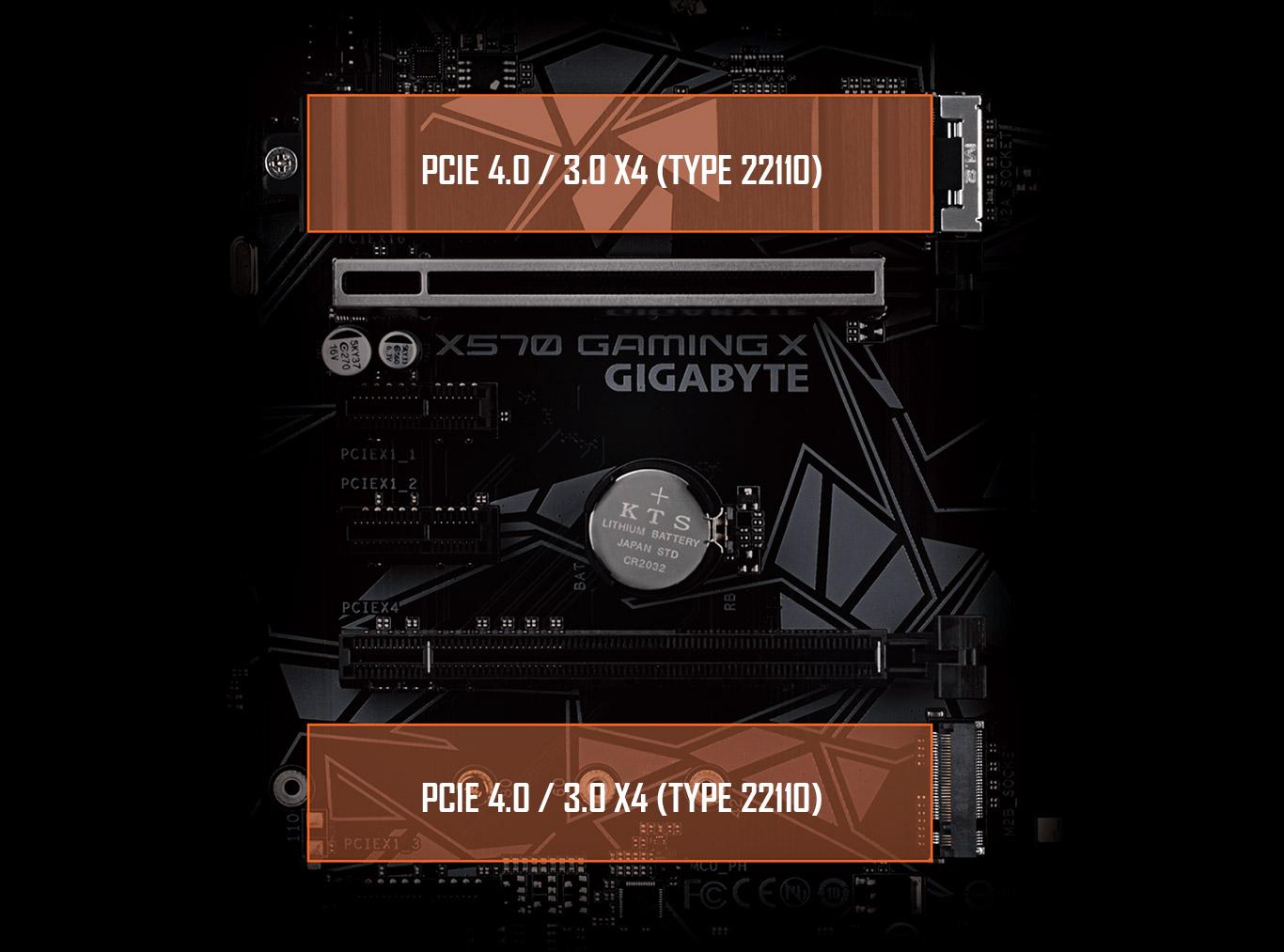 X570 GAMING X (rev  1 0) | Motherboard - GIGABYTE Global