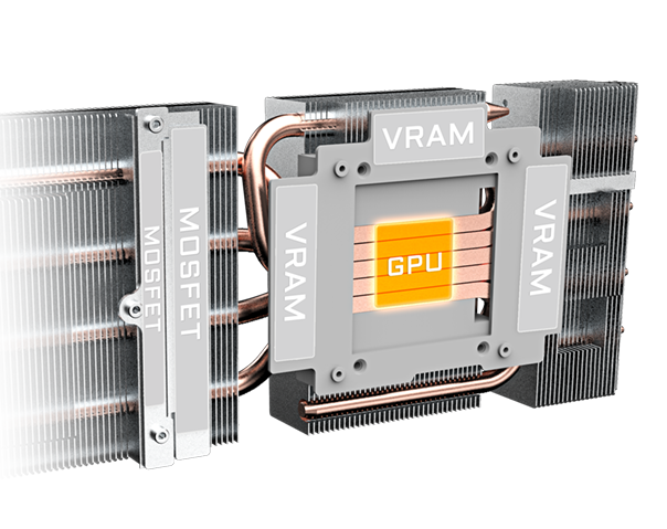 Gigabyte Radeon RX 5700 GAMING OC 8G 6