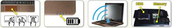 Gigabyte T1028M Notebook LAN Mac