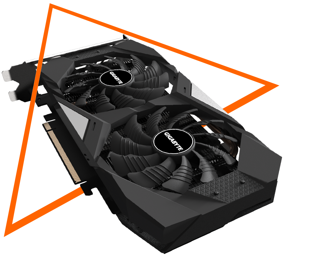 Gigabyte GeForce® GTX 1650 SUPER™ WINDFORCE OC 4G - GV-N165SWF2OC-4GD 8