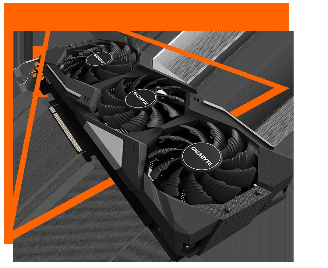 Gigabyte Radeon™ RX 5600 XT GAMING OC 6G - GV-R56XTGAMING OC-6G 10