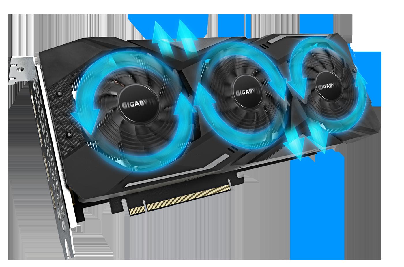 Gigabyte Radeon™ RX 5600 XT GAMING OC 6G - GV-R56XTGAMING OC-6G 11
