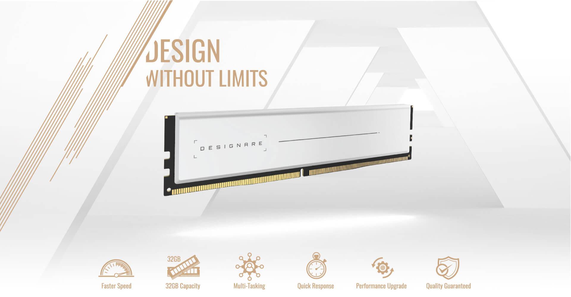 Gigabyte DESIGNARE Memory 64GB (2x32GB) 3200MHz - GP-DSG64G32 5