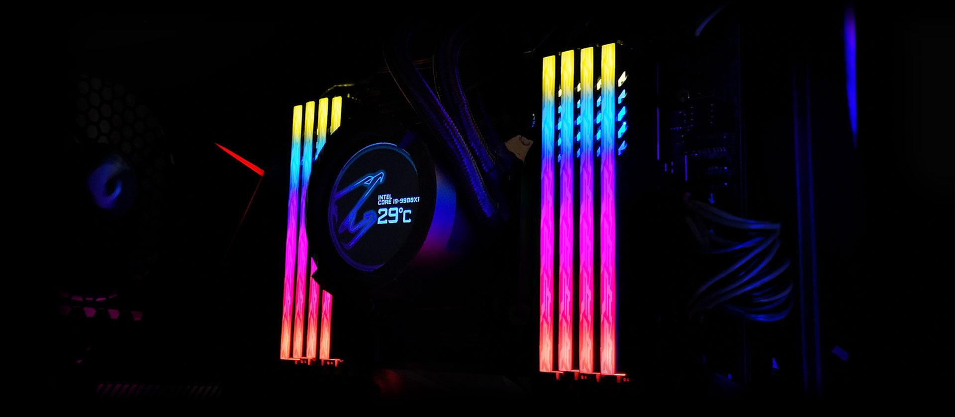 Gigabyte AORUS RGB Memory 16GB (2x8GB) 3200MHz - GP-ARS16G32 7