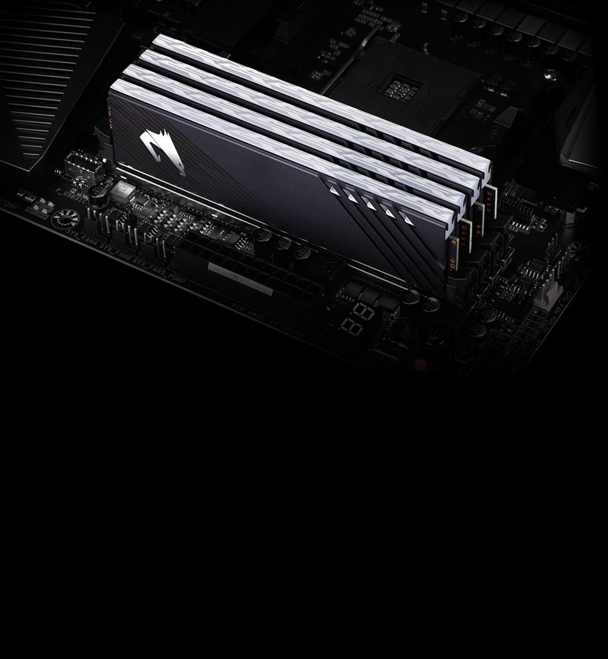 Gigabyte AORUS RGB Memory 16GB (2x8GB) 3200MHz - GP-ARS16G32 12