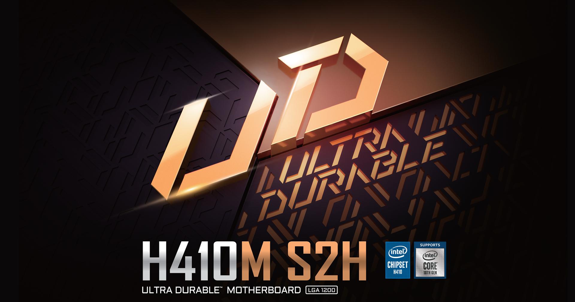 Gigabyte H410M S2H (rev. 1.0) Motherboard - Intel H410 Chipset 5