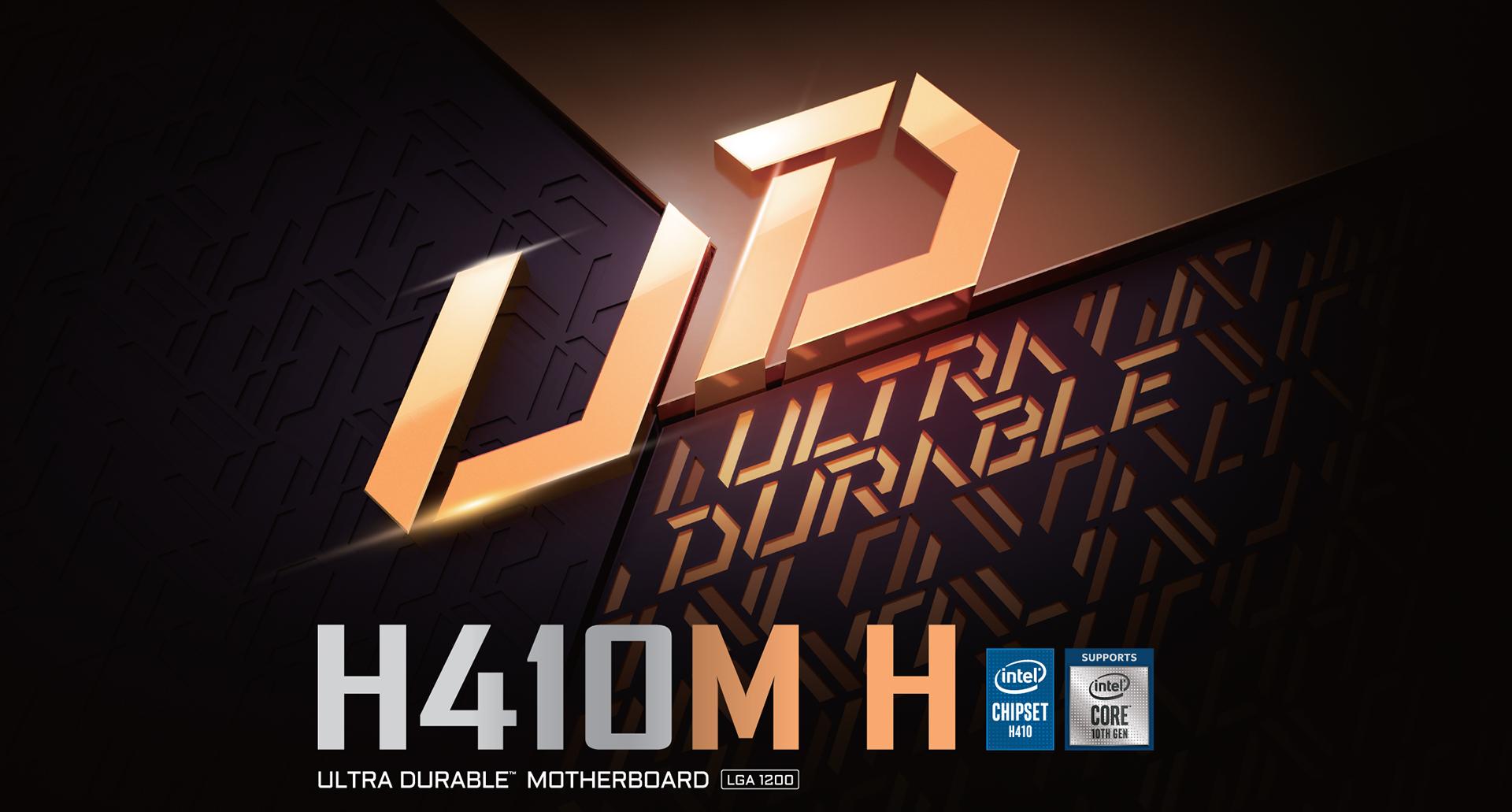 H410M H (rev. 1.0) Key Features | Motherboard - GIGABYTE Global