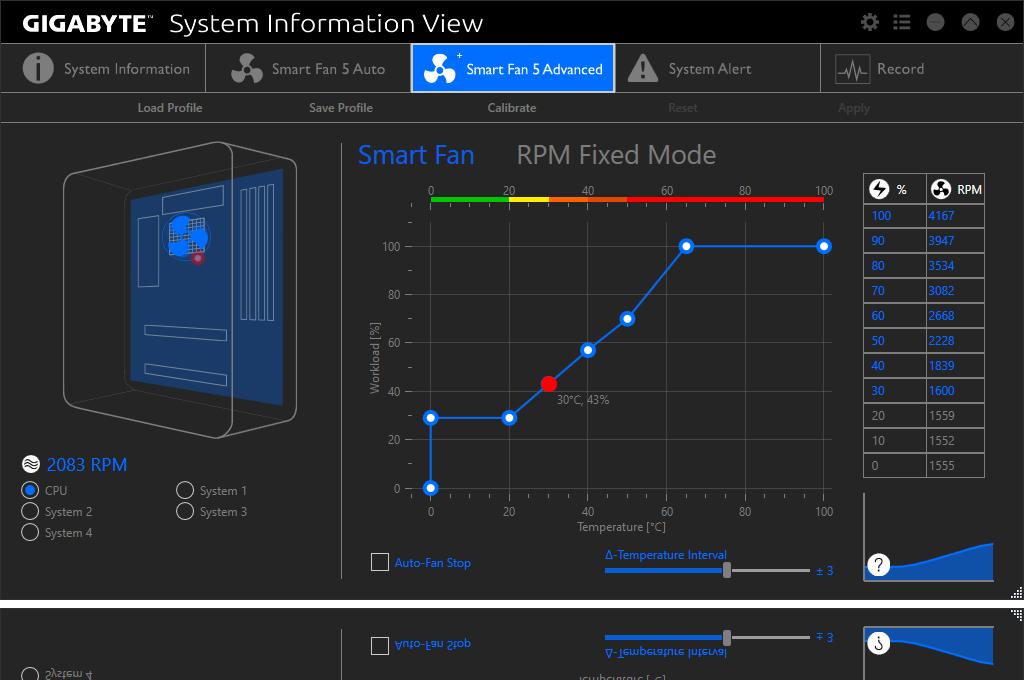 Gigabyte monitoring software