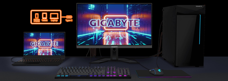 Gigabyte M27Q Gaming Monitor QHD 170Hz 0.5ms IPS 18