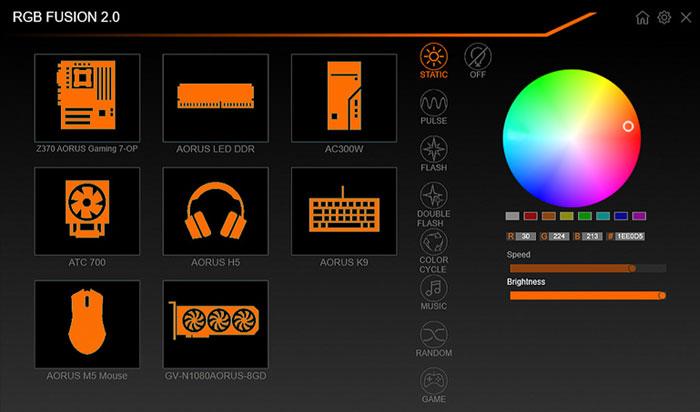 Gigabyte AORUS RGB Memory DDR4 16GB (2x8GB) 4400MHz - GP-ARS16G44 25