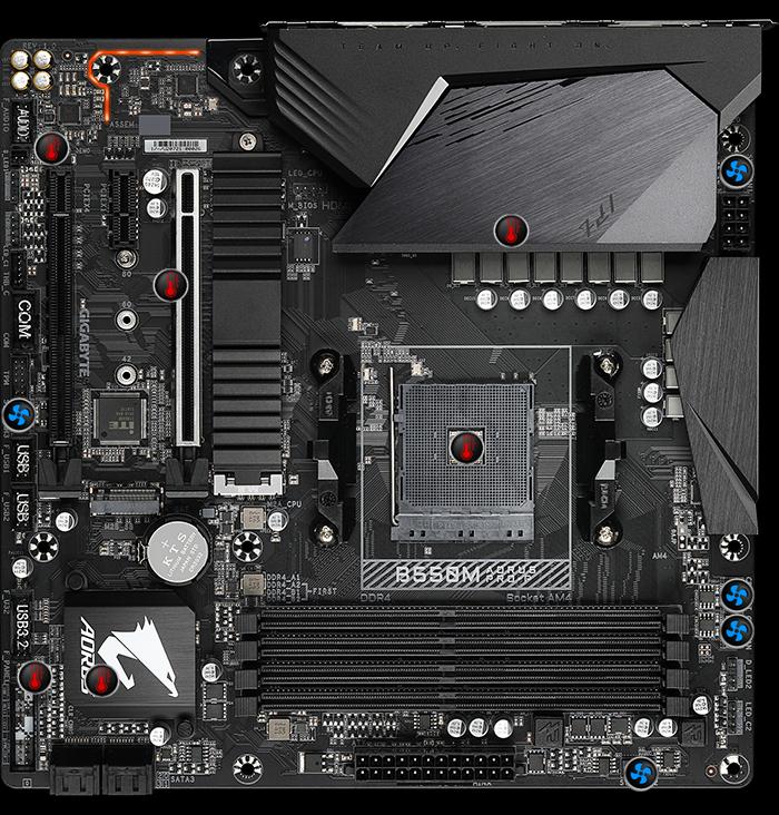 Gigabyte B550M AORUS PRO-P (rev. 1.0) Motherboard 19