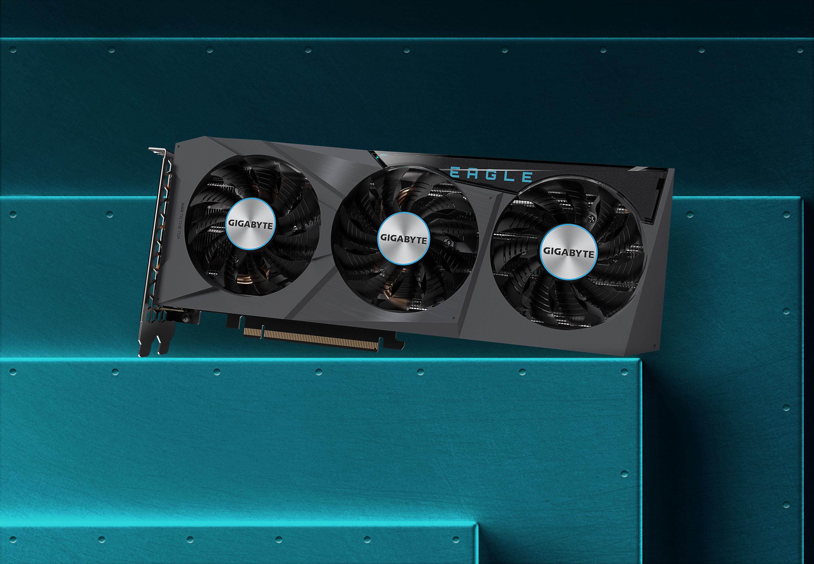 Gigabyte GeForce RTX 3070 EAGLE OC 8G 9