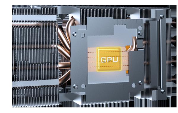 GIGABYTE RTX 3060 Ti GAMING OC PRO 8GB có Ống dẫn nhiệt bằng đồng