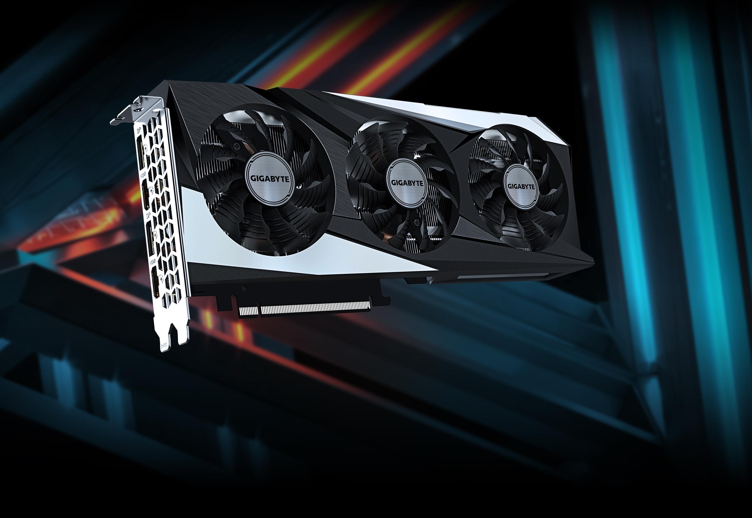 Gigabyte GeForce RTX 3060 Ti GAMING OC 8G 8