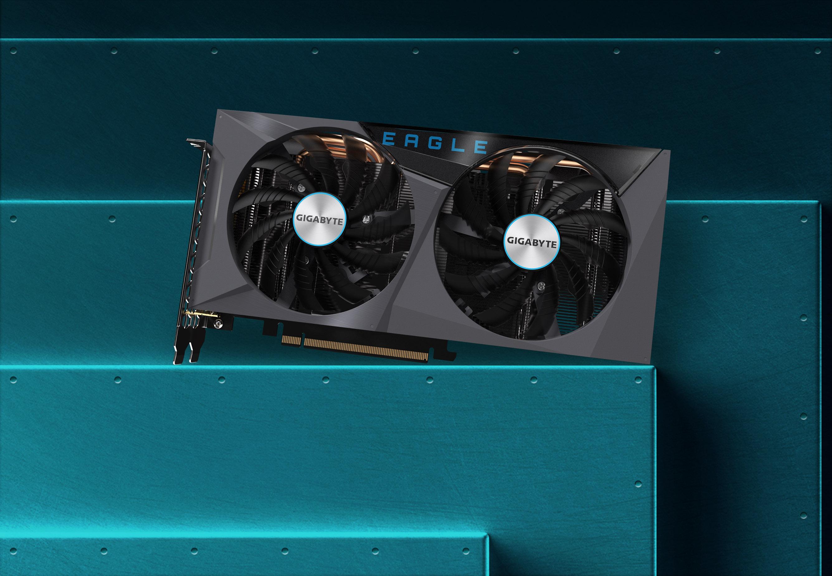 Gigabyte GeForce RTX 3060 EAGLE OC 12G - GV-N3060EAGLE OC-12GD 9