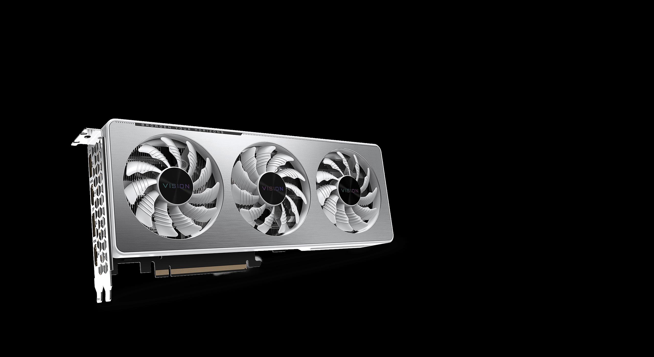 Gigabyte GeForce RTX 3060 VISION OC 12G - GV-N3060VISION OC-12GD 24