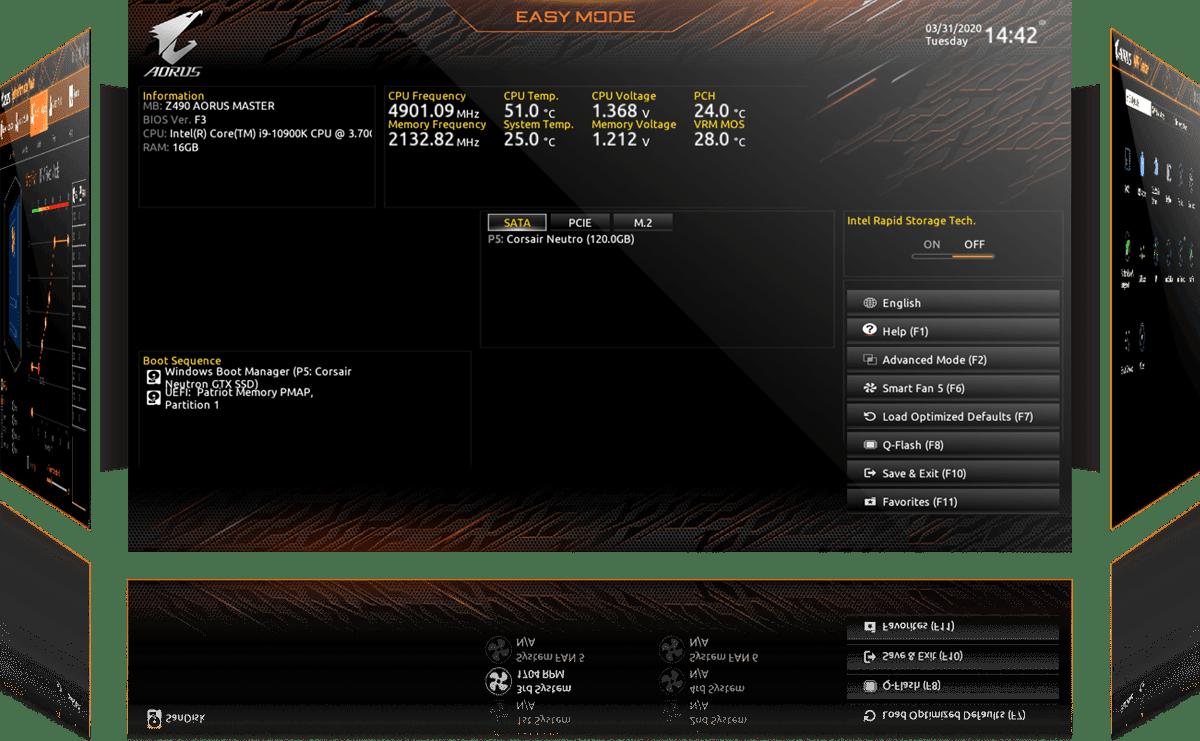 Gigabyte Z590 AORUS PRO AX (rev. 1.0) Motherboard 34