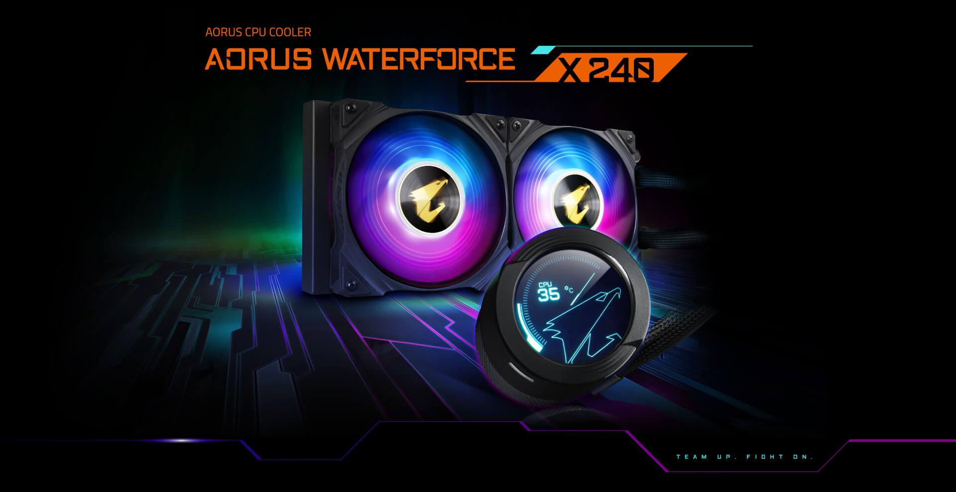Gigabyte Aorus waterforce X 240 - LIQUID COOLER X 240 6