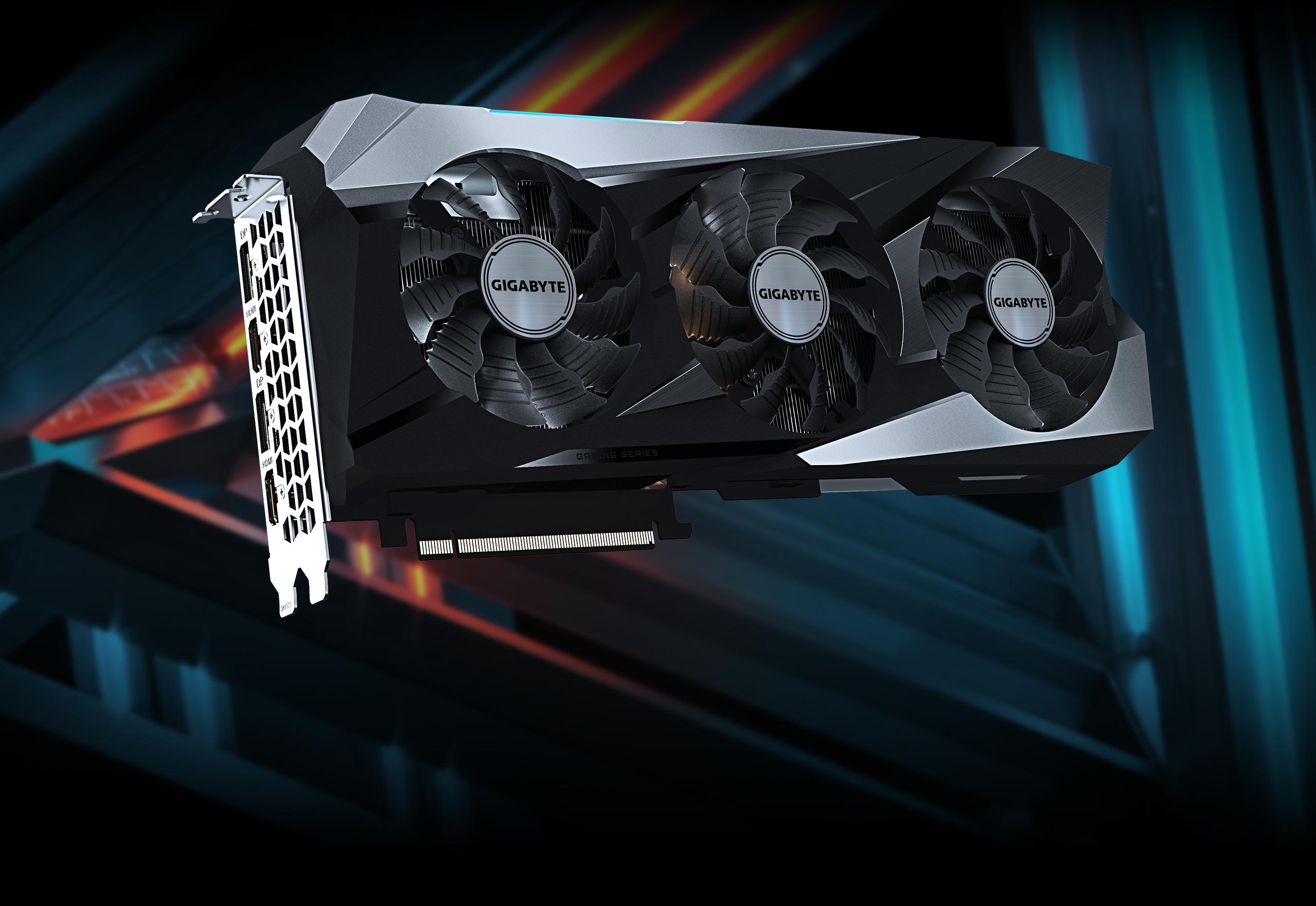 Gigabyte GeForce RTX 3070 Ti GAMING OC 8G 7