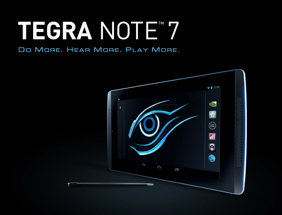 Tegra Note 7 Key Features Tablet Gigabyte Global