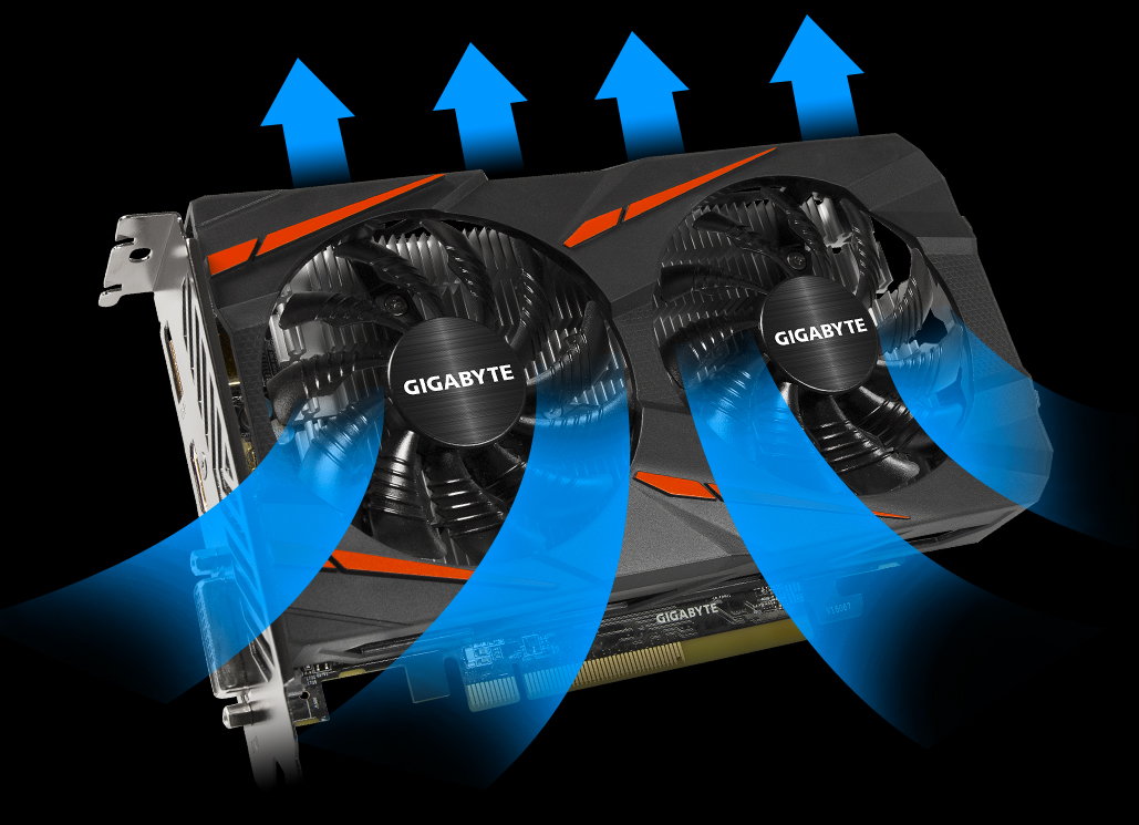 Radeon™ RX460 WINDFORCE OC 4G | Graphics Card - GIGABYTE Global