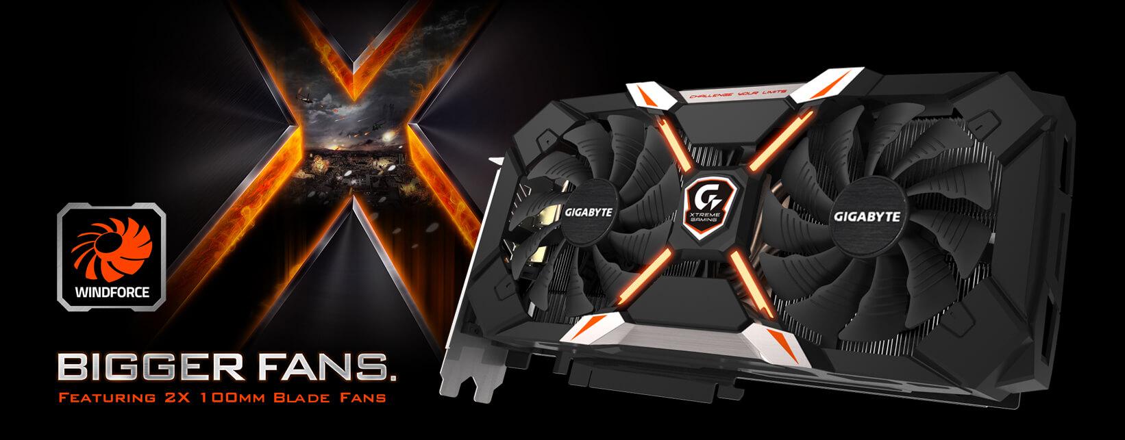 GeForce® GTX 1060 Xtreme Gaming 6G   Graphics Card