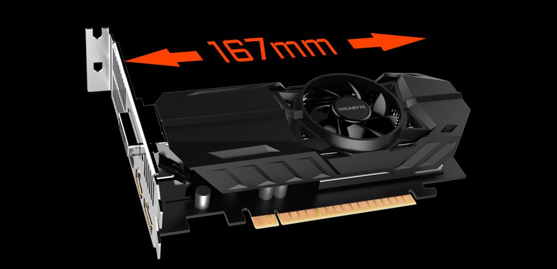 GeForce® GTX 1050 Ti OC Low Profile 4G | Graphics Card